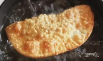 Чебуреки постные с грибами и гречкой - фото шаг 7