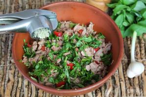 Салат из капусты с говядиной - фото шаг 6