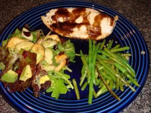 Мясо с брусникой - фото шаг 6