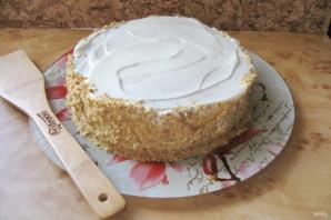 Сметанный торт с медовыми коржами - фото шаг 16