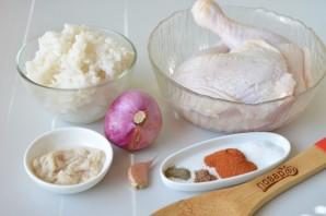 Куриная колбаса с рисом и паприкой - фото шаг 1