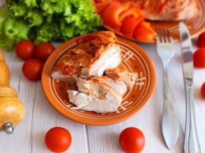 Куриная грудка на кости в духовке - фото шаг 9