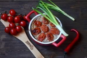 Кабачки в духовке с фаршем и помидорами - фото шаг 8
