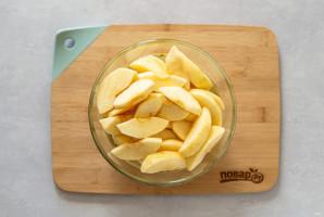 Яблочное варенье дольками с лимоном