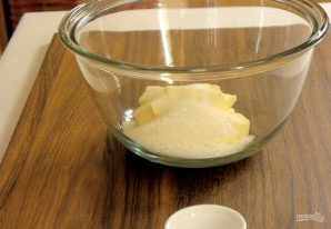 Яблочный пирог с безе - фото шаг 1