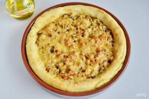 Картофельный пирог с грибами и сыром - фото шаг 10