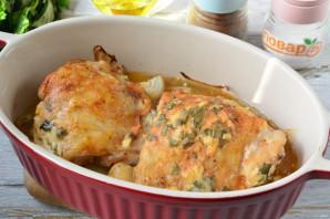 Курица с мятой в духовке - фото шаг 7