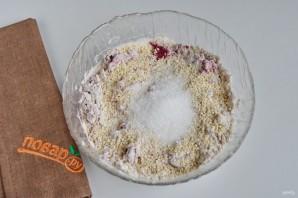 Свекольно-кунжутное печенье - фото шаг 3