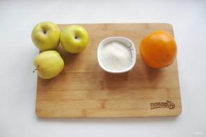 Яблочное повидло с апельсином - фото шаг 1