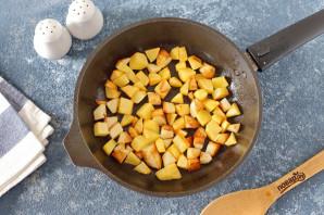 Пирог с маринованными грибами и картофелем - фото шаг 2