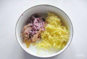 Салат с минтаем - фото шаг 3