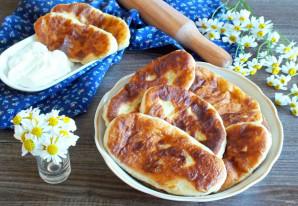 """Тонкие пирожки с картошкой """"Крестьянские"""" - фото шаг 16"""