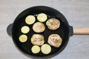 Кабачки и баклажаны на гриле - фото шаг 5