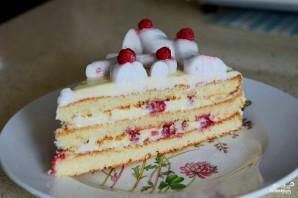 Быстрый торт из коржей - фото шаг 9