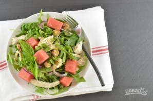 Салат с рукколой и курицей - фото шаг 3