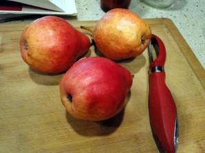 Шарлотка с грушами и яблоками - фото шаг 1