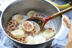 Гречка с бананом - фото шаг 8