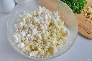Салат из творога и брынзы - фото шаг 3