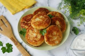 Котлеты из картофеля в мундире - фото шаг 8