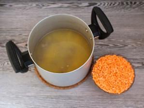 Суп из чечевицы с цветной капустой - фото шаг 9