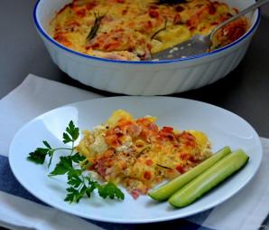 Картофельный гратен с беконом - фото шаг 11