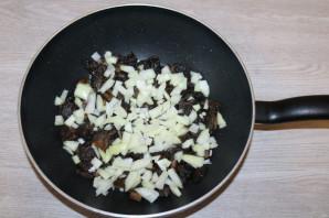 Паста с грудкой и грибами - фото шаг 5