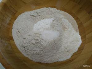 Хлебные крекеры с сыром - фото шаг 2