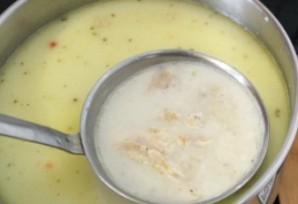 Суп-пюре из цветной капусты с курицей - фото шаг 4