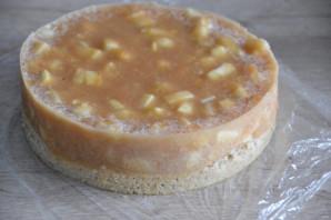 Муссовый яблочный торт - фото шаг 37