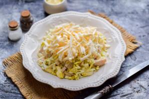 Салат с курицей и плавленным сыром - фото шаг 5