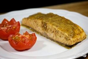 Стейк лосося в духовке - фото шаг 7