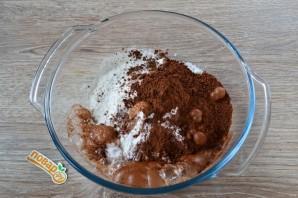 Простой шоколадный торт - фото шаг 2