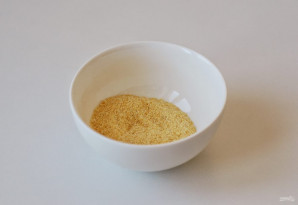 Картофель в кукурузной муке - фото шаг 2