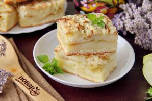 Яблочный пирог со штрейзелем - фото шаг 11