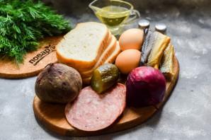 Датские бутерброды - фото шаг 1