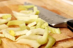 Салат с креветками - фото шаг 8