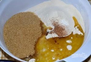 Тыквенный пирог с лимоном - фото шаг 3