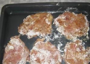 Мясо с грибами и сыром - фото шаг 10