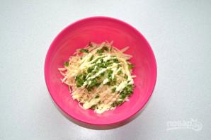 Лаваш с сыром на мангале - фото шаг 5