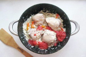 Курица с рисом по-испански - фото шаг 8