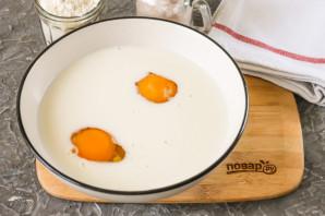 Заварные блины на молоке с дырочками - фото шаг 2