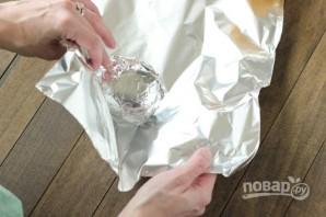 Рецепт запеченной картошки в фольге - фото шаг 3