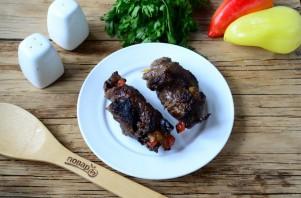 Мясные роллы, фаршированные овощами - фото шаг 10