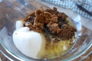 Домашнее шоколадное печенье с кусочками шоколада - фото шаг 2