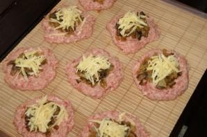 Зразы с грибами и сыром - фото шаг 2