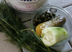Соус к овощам гриль - фото шаг 1