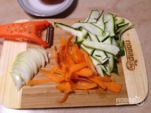 Рис с морковкой, цуккини и апельсином - фото шаг 3