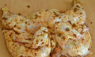 Классический рецепт цыпленка табака - фото шаг 4