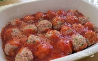 Тефтельки в томатном соусе - фото шаг 5