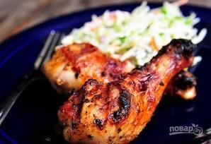 Шашлык из куриных ножек на шампурах - фото шаг 6